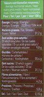Biscuits Twibio Double Chocolat Au Lait Bio & équitable - Informations nutritionnelles - fr