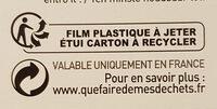 Biscuits Twibio Double Chocolat Au Lait Bio & équitable - Instruction de recyclage et/ou informations d'emballage - fr