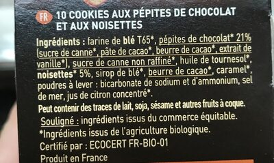 Cookies Pépites - Ingrediënten