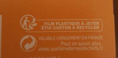 Cookies Pépites - Instruction de recyclage et/ou informations d'emballage - fr