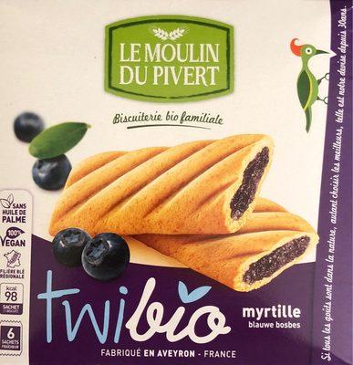 Twibio fourrés myrtille - Produit - fr
