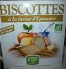 Biscottes à la farine d'epeautre - Product