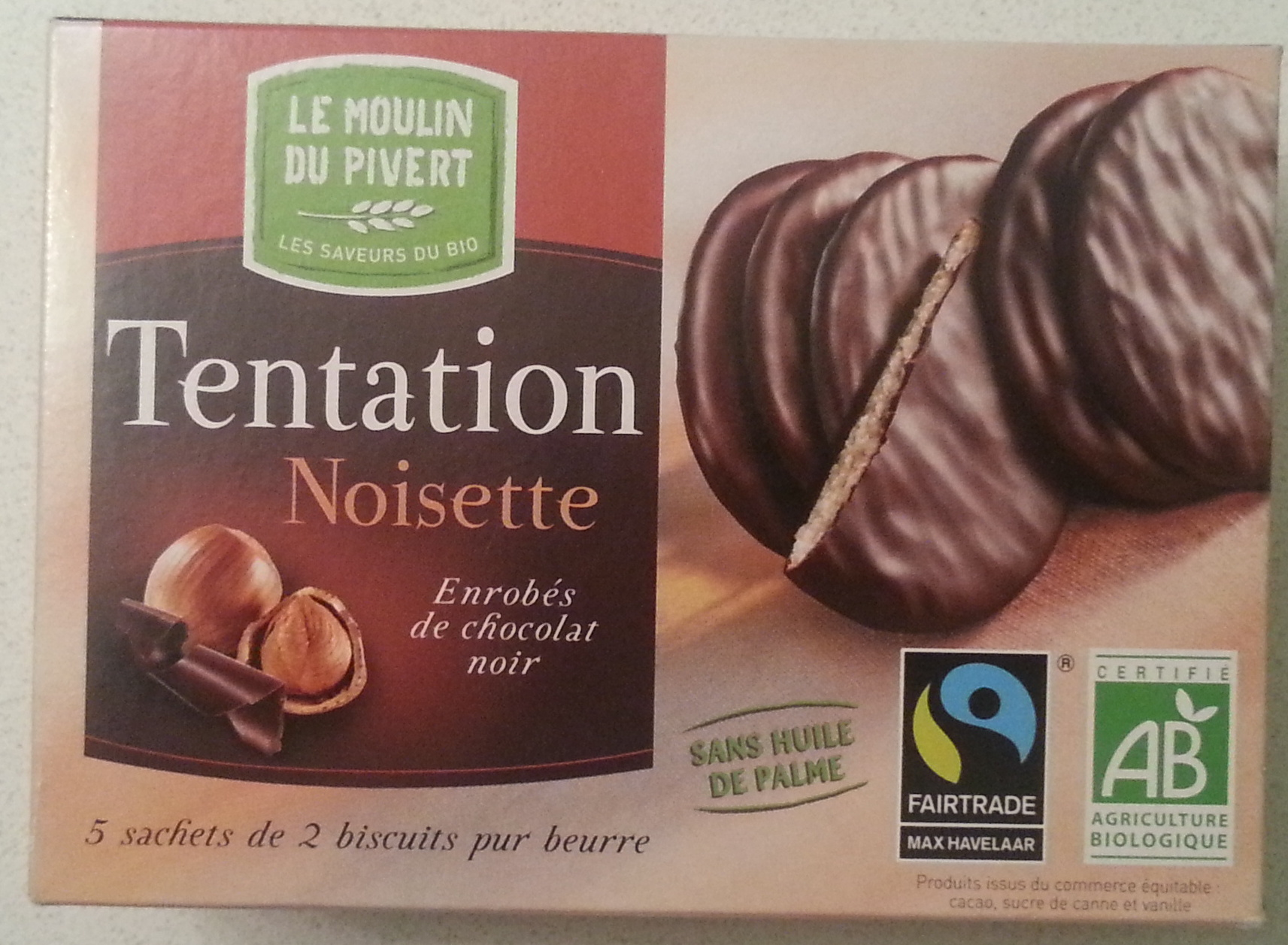 Tentation Noisette - Product