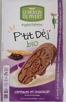 P'tit déj bio chocolat - Produit - fr
