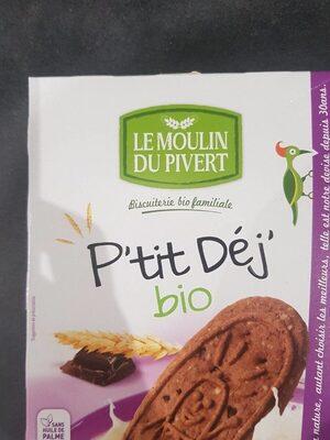 P'tit déj bio céréales et chocolat - Product - fr
