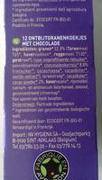 P'tit déj bio céréales et chocolat - Ingrediënten - nl