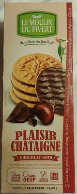 Plaisir châtaigne - chocolat noir - Product - fr