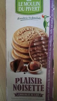 Plaisir noisette chocolat au lait - Product