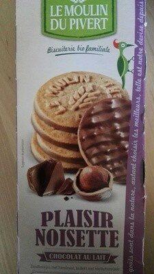 Plaisir noisette chocolat au lait - Produit - fr