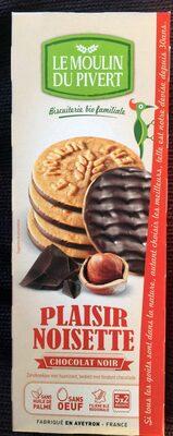 Plaisir noisette chocolat noir - Product - fr