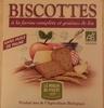 Biscottes à la farine complète et graines de lin - Produit