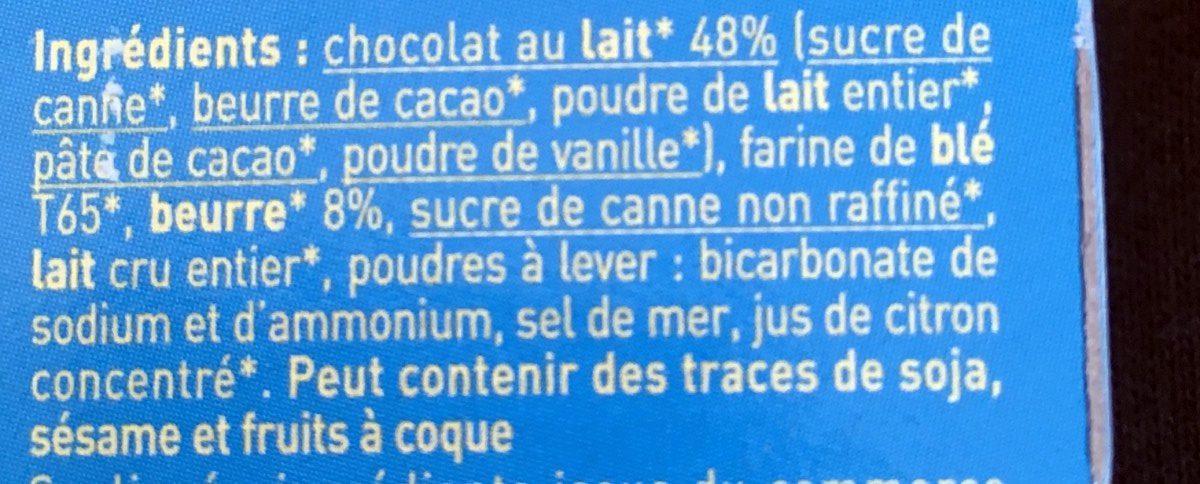 P'tiwi Choc' Chocolat au Lait - Ingredients - fr