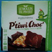 P'tiwi Choc' - Biscuit p'tits beurres très très chocolat noir - Product - fr