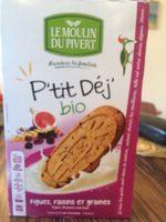 Biscuit Petit Dej Figue, Raisin, Graines - Product