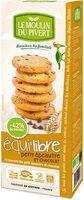 Biscuits équi'libre petit épeautre et chocolat - Produit - fr