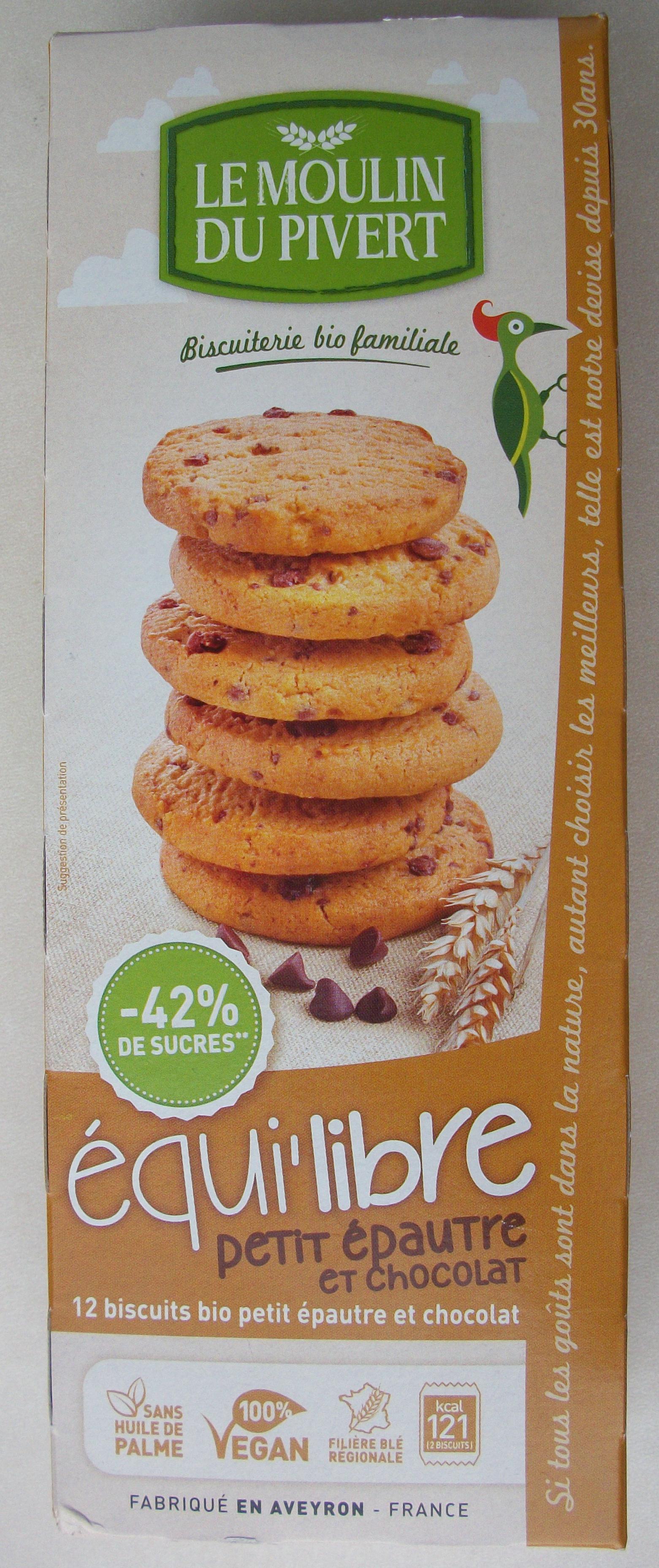 Équi'libre petit épautre et chocolat - Produit - fr