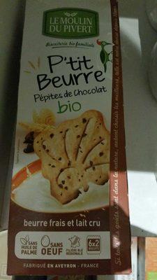 P'tit Beurre Pépites de Chocolat bio - Product