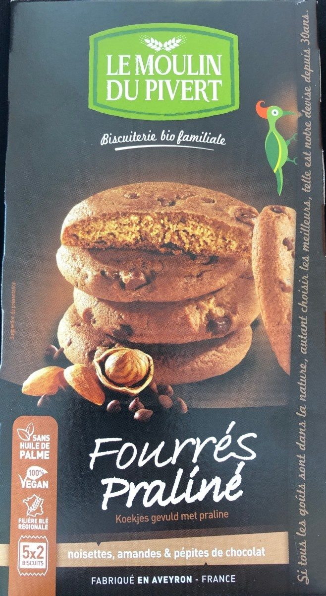 Fourrés praliné - Product