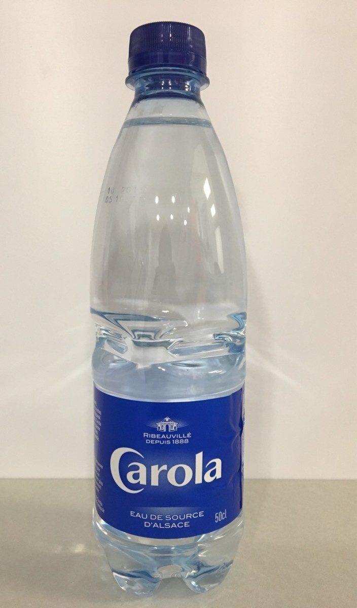 CAROLA Bleue Plate PET 50cl - Product