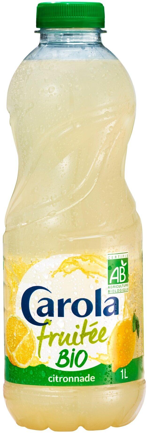 CAROLA Fruitée BIO Citronnade PET 1L - Product