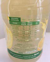 CAROLA Fruitée BIO Citronnade PET 1L - Ingredients