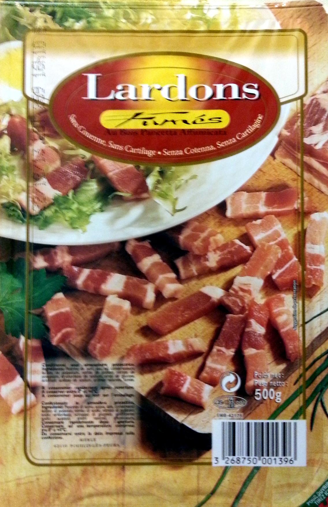 Lardons fumés - Product