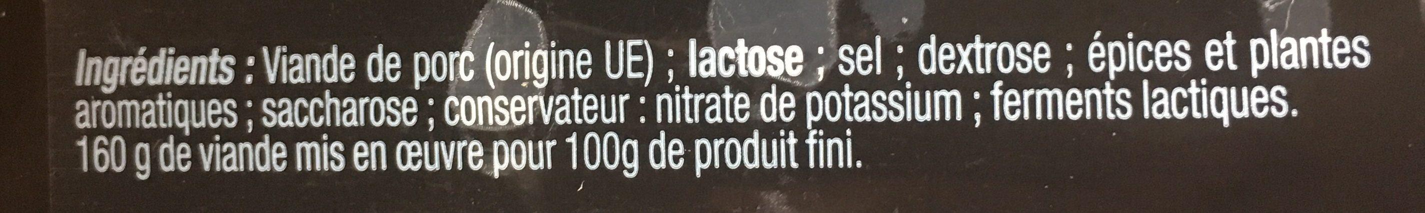 Savoureux tranchés - Ingredients - fr