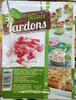 Lardons nature sans couenne, sans cartilage - Product