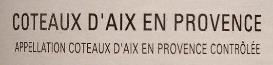Le Chant des Sources - Ingredients - fr