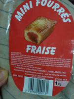 Mini fourrés fraise - Product