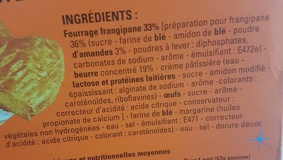 Galette des rois - Ingrediënten