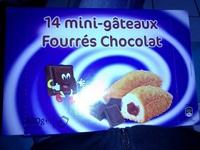 14 mini-gâteaux Fourrés Chocolat - Produit