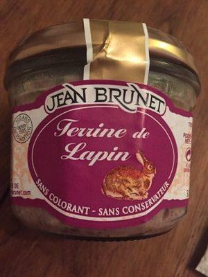 Terrine De Lapin Jean Brunet, - Product