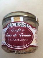Confit des foies de volaille a l'armagnac - Product