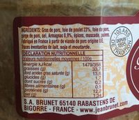 Confit des foies de volaille a l'armagnac - Ingrediënten
