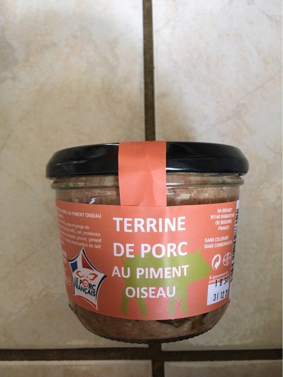 Terrine de porc au piment oiseau - Product