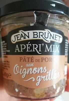 Pâté de Porc aux oignons grillés - Product