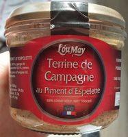Terrine de Campagne au Piment d'Espelette - Product