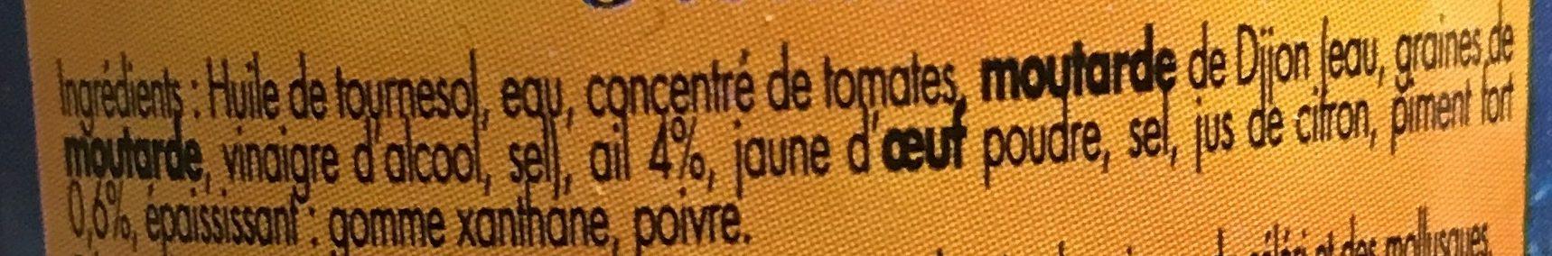 Rouille Gastromer, - Ingrédients - fr