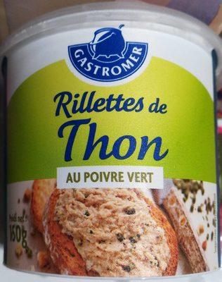 Rillettes De Thon Gastromer, Au Poivre Vert 150g - Produit - fr