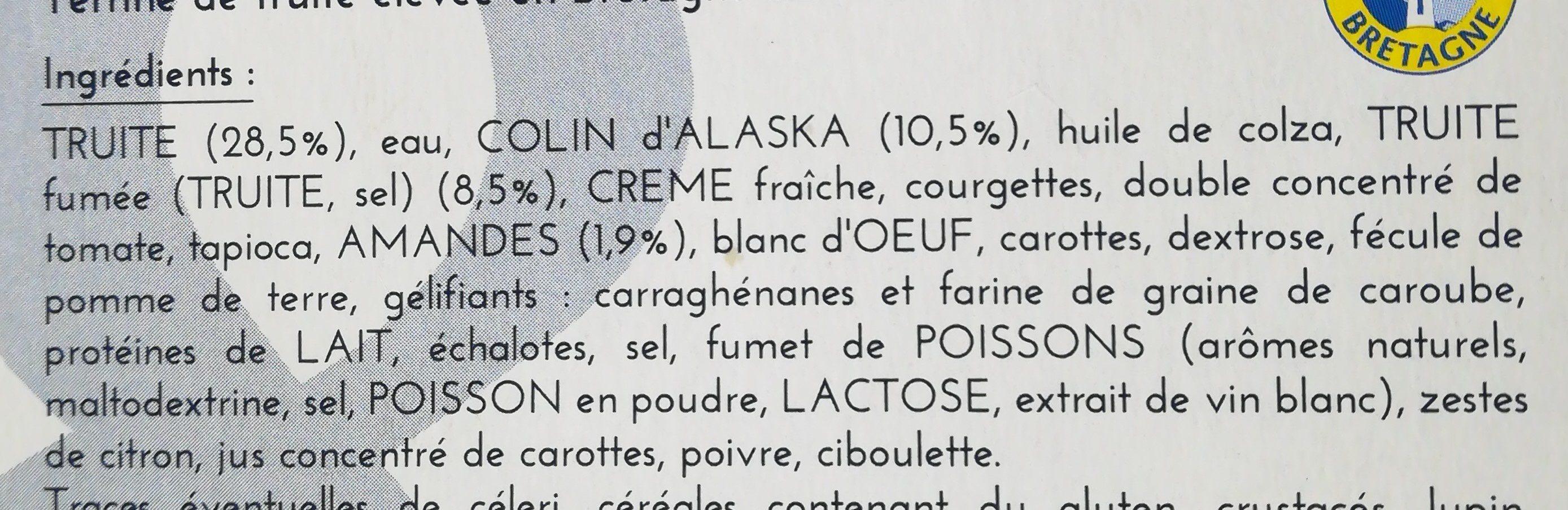 Rillettes De Thon Gastromer, Au Poivre Vert 150g - Ingrédients - fr