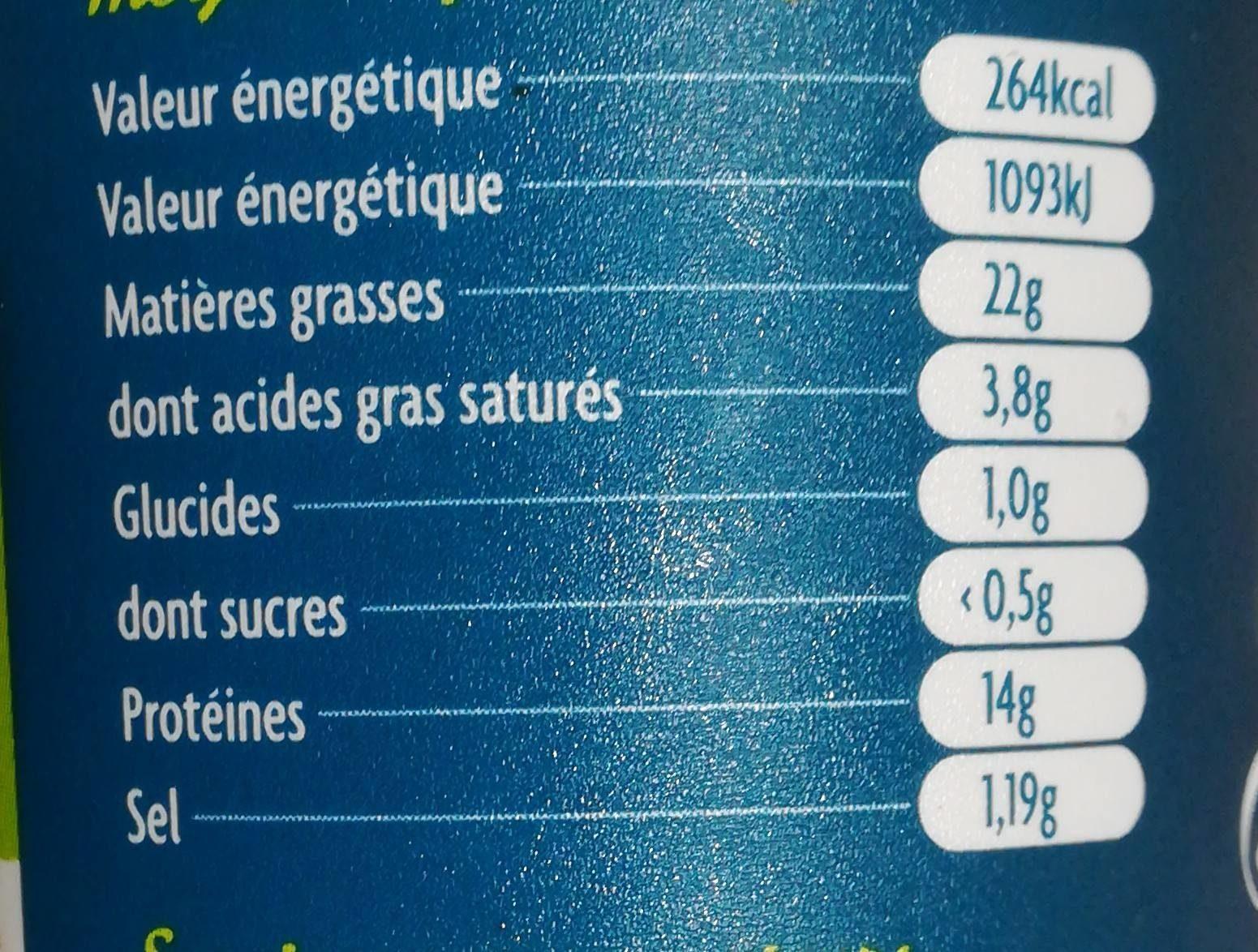 Rillettes De Thon Gastromer, Au Poivre Vert 150g - Informations nutritionnelles - fr