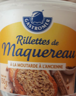 Rillette De Maquereaux Gastomer, - Product
