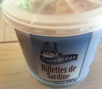Rillettes de sardine - Produit