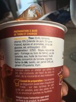 Les émiettés thon chorizo - Ingredients