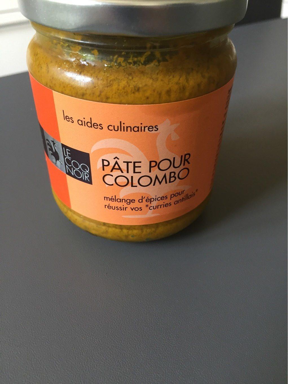 Pâte Pour Colombo - Product