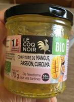 Confiture de mangue, passion, curcuma - Product