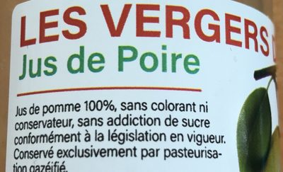 Jus de pomme cassis - Ingredienti - fr