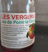 Jus de pomme cassis - Valori nutrizionali - fr