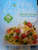 Tagliatelles sauce pesto et noix de Saint Jacques*, Surgelé - Product